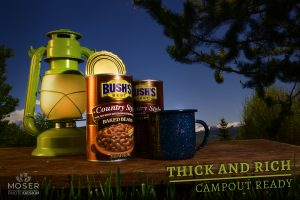 Bush's Beans Commercial Image - Thick and Rich - Campout Ready