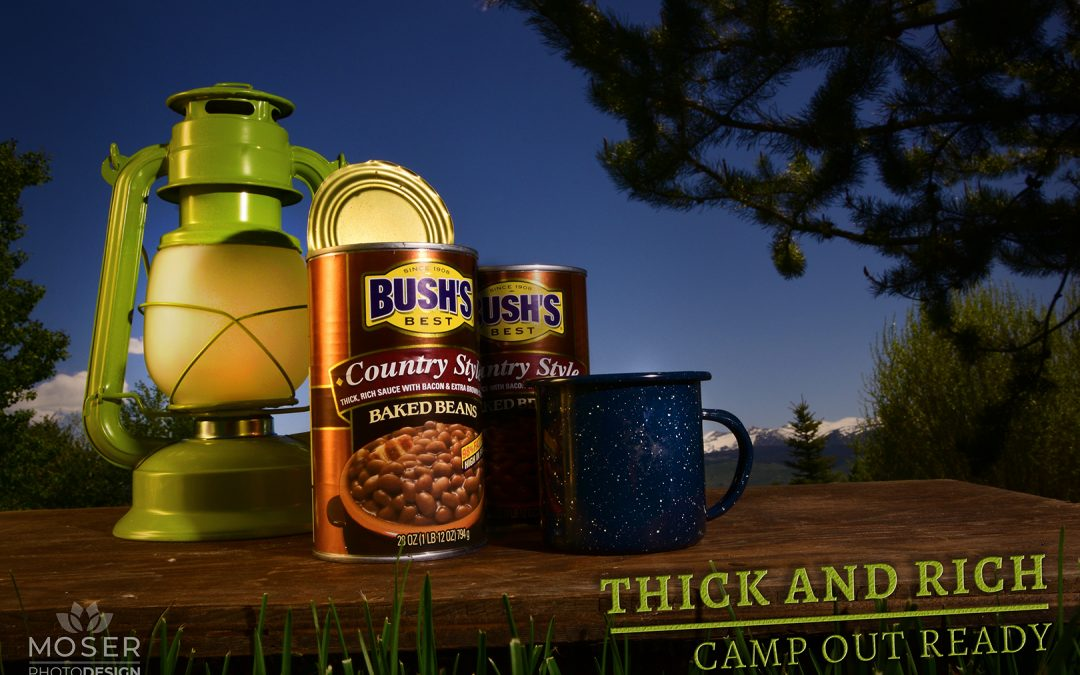 BUSH'S BEANS PRODUCT AD