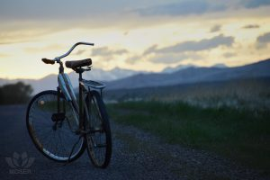 Alexis-Moser-transport-through-time-Old-Bike-On-Road-Riding-Away