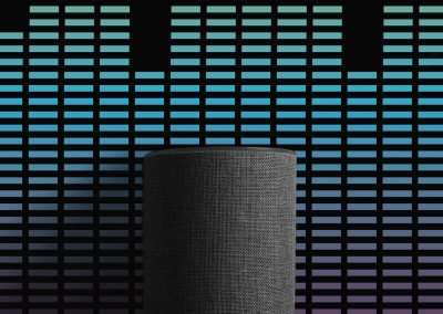 DAY 12: AMAZON ALEXA MUSIC POSTER