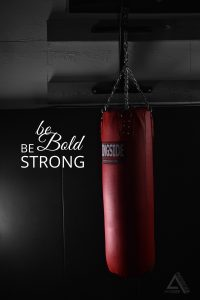 Alexis-Moser-Bold-Red-Punching-Bag